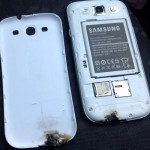 Samsung Galaxy S III is burning hot, literally